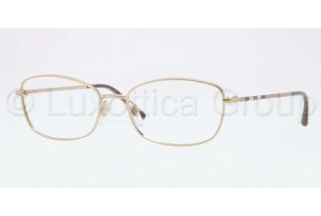 Bubberry BE1256 1145 BURBERRY GOLD DEMO LENS