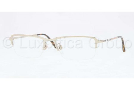 Bubberry BE1257 1145 BURBERRY GOLD DEMO LENS