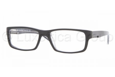 Bubberry BE2041 3016 BLACK WITH GRAY CHECK DEMO LENS