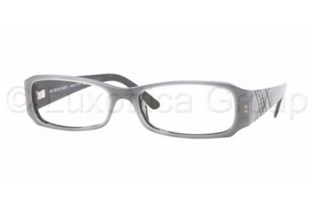 Bubberry BE2043 3091 GRAY/STRIPED BLACK DEMO LENS