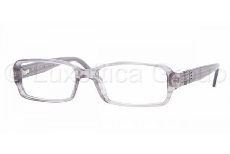 Bubberry BE2049 3129 STRIPED TRANSPARENT GR DEMO LENS