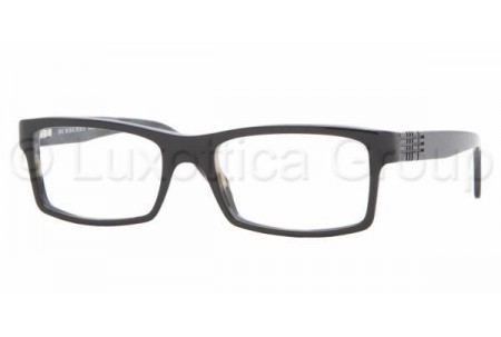 Bubberry BE2050 3084 BLACK ON GRAY HORN DEMO LENS
