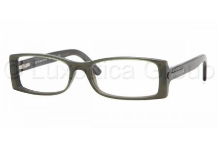 Bubberry BE2055 3134 TOP GREEN ON GRAY DEMO LENS