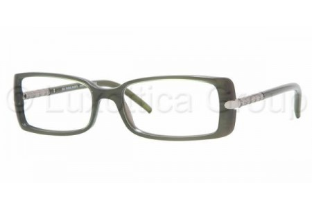 Bubberry BE2064 3134 TOP GREEN ON GRAY DEMO LENS