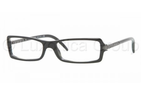 Bubberry BE2065 3084 BLACK ON GRAY HORN DEMO LENS