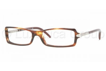 Bubberry BE2065 3133 BROWN STRIPED HAVANA DEMO LENS