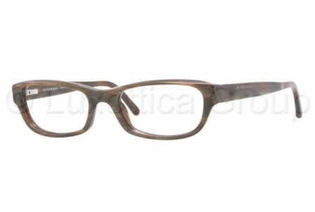 Bubberry BE2096 3022 BROWN HORN STRIPED DEMO LENS