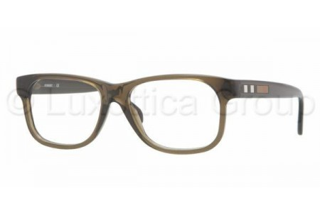 Bubberry BE2136 3010 OLIVE GREEN DEMO LENS