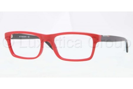 Bubberry BE2138 3393 TOP TRANSP/RED DEMO LENS3395