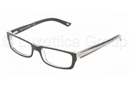 D&G DD1167 675 BLACK TOP ON CLEAR DEMO LENS