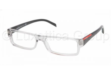 Prada Suport PS 01AV AAA1O1 SMOKE CRYSTAL