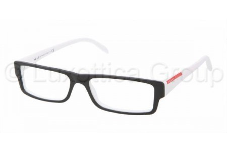 Prada Suport PS 01AV AAD1O1 TOP BLACK/WHITE
