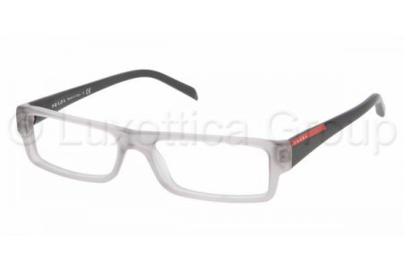 Prada Suport PS 01AV IAV1O1 MATTE OPAL GRAY