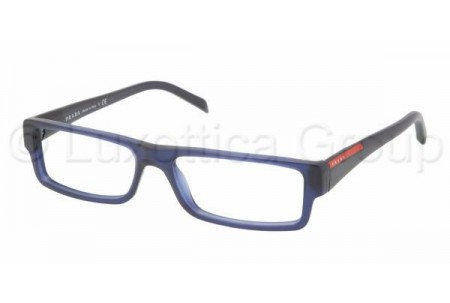 Prada Suport PS 01AV IAW1O1 MATTE BLUE