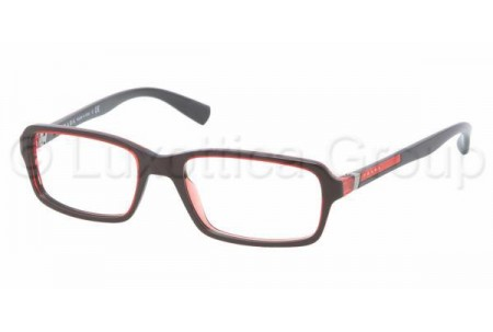 Prada Suport PS 01CV CAR1O1 LAVA RED