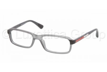Prada Suport PS 01DV LAM1O1 TOP GRAY/MATTE CRYSTAL