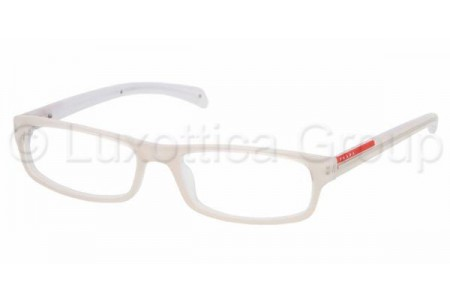 Prada Suport PS 02AV ZX51O1 CREAM/TRANSPARENT IVORY