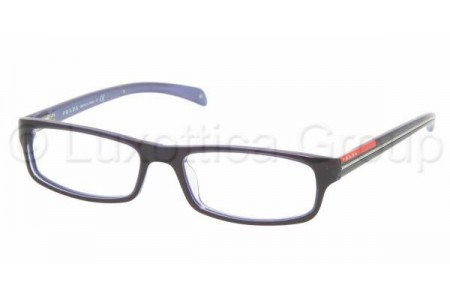 Prada Suport PS 02AV ZXZ1O1 BLUE/AZURE TRANSPARENT