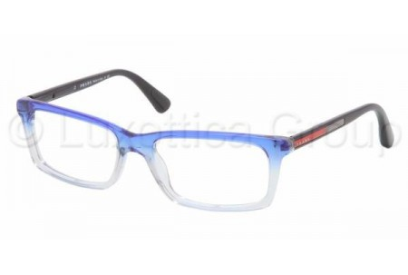 Prada Suport PS 02CV JAT1O1 STRIPED BLUE