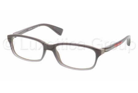 Prada Suport PS 02DV LAN1O1 GRAY GRADIENT WHITE