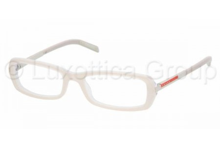 Prada Suport PS 03AV ZX51O1 CREAM/TRANSPARENT IVORY