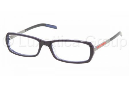 Prada Suport PS 03AV ZXZ1O1 BLUE/AZURE TRANSPARENT