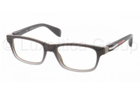 Prada Suport PS 03DV LAN1O1 GRAY GRADIENT WHITE