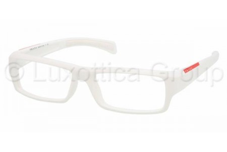Prada Suport PS 05AV 4AO1O1 WHITE+WHITE RUBBER