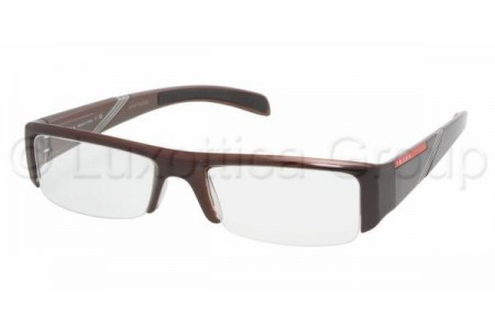 Prada Suport PS 06AV ZX01O1 TOP MAHOGANY-BROWN-CRY.