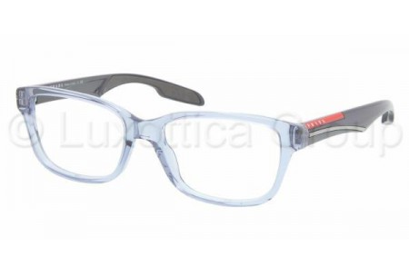 Prada Suport PS 06CV EAT1O1 AZURE TRANSPARENT