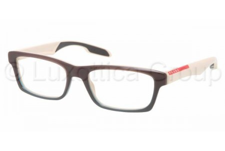 Prada Suport PS 07CV LAO1O1 BROWN GRADIENT GREEN