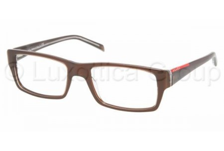 Prada Suport PS 08AV ZX01O1 MORISH/TRANSPARENT MORIS