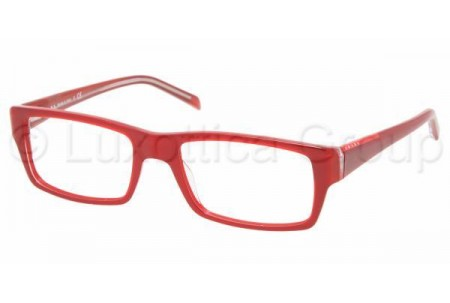 Prada Suport PS 08AV ZYA1O1 RED/RED TRANSPARENT