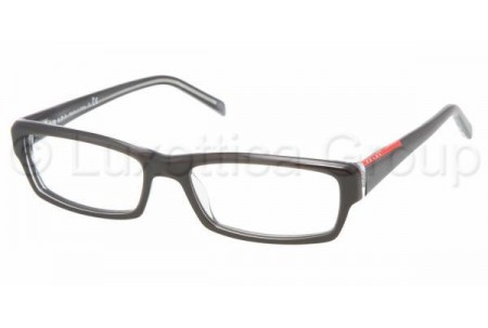 Prada Suport PS 09AV ZXX1O1 BLACK/TRANSPARENT GRAY