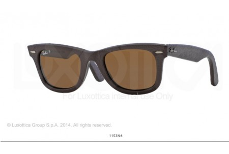 Ray-Ban 0RB2140QM WAYFARER LEATHER 1153N6 2140