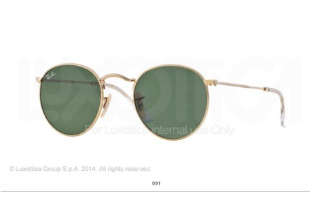 Ray-Ban 0RB3447 ROUND METAL 001 3447