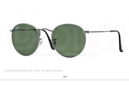 Ray-Ban 0RB3448 ROUND METAL 029 3448