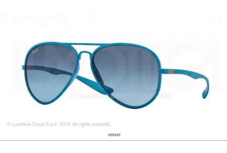 Ray-Ban 0RB4180 AVIATOR LITEFORCE 60848F 4180