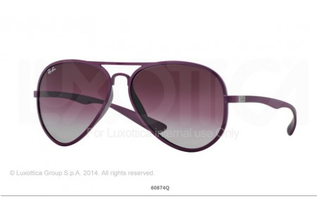 Ray-Ban 0RB4180 AVIATOR LITEFORCE 60874Q 4180