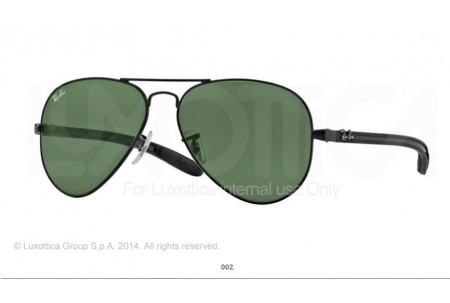 Ray-Ban 0RB8307 AVIATOR TM CARBON FIBRE 002 8307