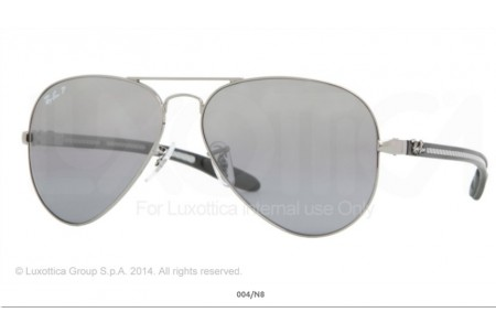 Ray-Ban 0RB8307 AVIATOR TM CARBON FIBRE 004N8 8307