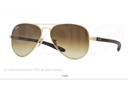 Ray-Ban 0RB8307 AVIATOR TM CARBON FIBRE 11285 8307