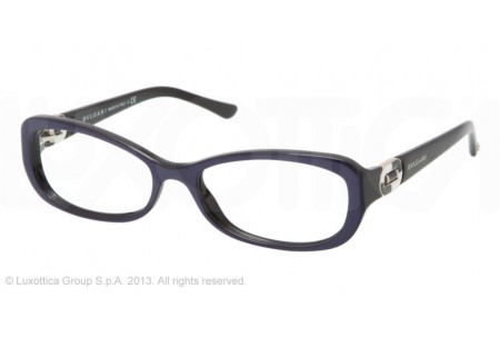 Bvlgari  0BV4056B 5201 TOP BLUE ON BLACK