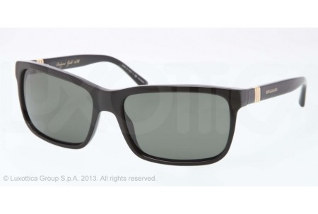 Bvlgari  0BV7017G 528558 BLACK POLARIZED