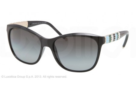 Bvlgari  0BV8104 901/T3 BLACK POLARIZED