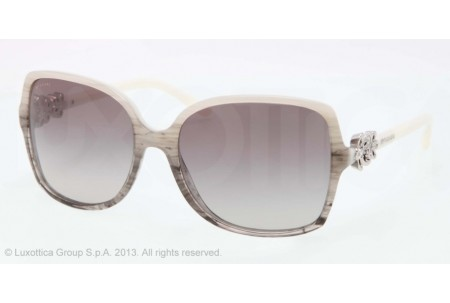 Bvlgari  0BV8120B 527911 WHITE/GRAY STRIPED TRASNP