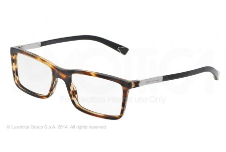 Dolce & Gabbana BASALTO COLLECTION 0DG3211 2673 MATTE STRIPED BROWN
