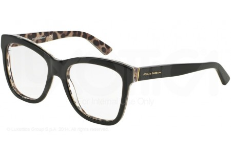 Dolce & Gabbana ENCHANTED BEAUTIES 0DG3212 2857 TOP BLACK/LEO