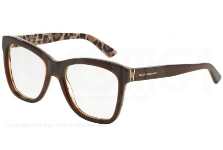Dolce & Gabbana ENCHANTED BEAUTIES 0DG3212 2881 TOP OPAL BROWN/LEO