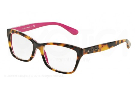 Dolce & Gabbana CONTEMPORARY 0DG3215 2892 TOP HAVANA ON CYCLAMEN